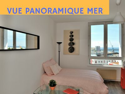 Photo for APARTMENT COZY WIFI HD PANORAMIC VIEW ON THE SEA