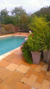 Photo for L'oustal de Moreau, swimming pool, arbor, swing, enclosed garden, air conditioning