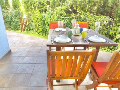 Photo for Comfy 2 bedroom apartment with terrace