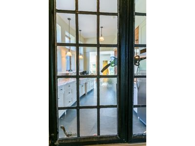 View of Kitchen from Entry Vestibule