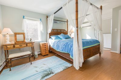Bamboo Canopy Bed 2nd floor