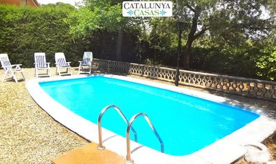 Photo for Catalunya Casas: Cozy rural villa in Arbrells for 6 guests, just 25km from Barcelona!