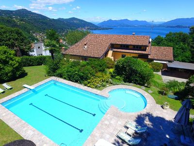 Photo for Villa Nebbi is located close to Meina, a small town by the lakeside, with shops and restaurants.