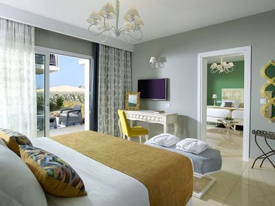 Photo for R226 Deluxe Family Room Garden View Special Half Board Offer