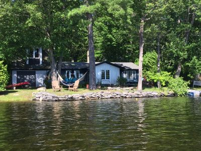 Awe Inspiring Waterfront Luxury Family Cottage Weed Free Swimming In Lakefield Ontario Peterborough Beutiful Home Inspiration Cosmmahrainfo