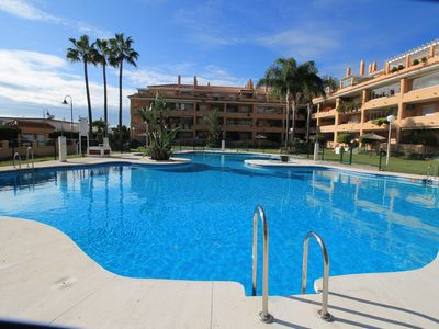 Photo for 2 bedroom Sea view Apartment in La Cala de Mijas only 100 meters from the beach