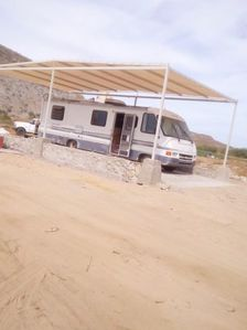 Photo for ★ RV On The Beach w/ Shade ★ Exterior Bathroom & Shower ★ Food Service Available