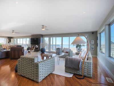 Photo for Luxurious,  Beach Front Home, steps away from beautiful North Beach!