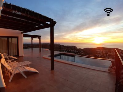 Photo for Offer last minute second half of August-Luxurious villa with pool and sea views