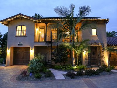 Photo for Solana Beach Tuscan Villa on golf course
