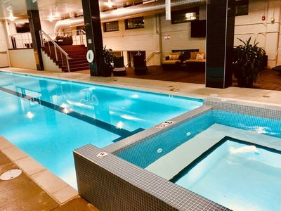 Photo for DtKC Walk 2 P&L, SprintCenter & ALL the FUN! POOL TABLE &Year Round POOL&HOTTUB!