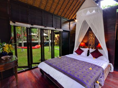 Photo for THE KINGFISHER at Jendela di Bali | A Romantic Retreat in the Hills near UBUD