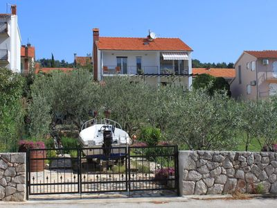 Photo for Three bedroom apartment with balcony and sea view Stari Grad, Hvar (A-8708-a)