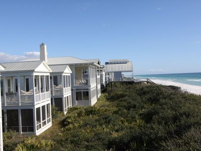 Photo for Beachfront 8 - Firefly: Gulf Front Cottage in Seaside, Newly Remodeled!