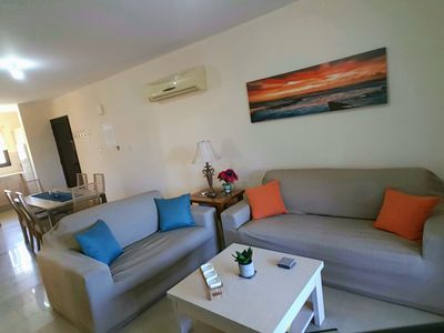 Photo for Luxury 3 Bed/2 Bath Apartment in Kyklades Resort