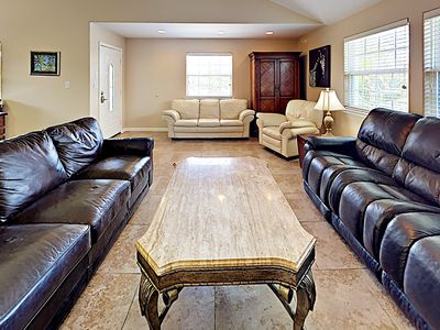 Photo for SL423: 2 Dining Tables, Shared Pool, Golf Cart Accessible, Shaded Balcony