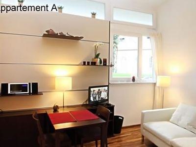 Photo for Smart, modern city apartment in the city center, wireless Internet access (without guarantee)