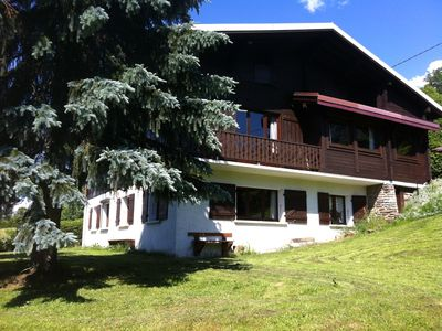 Photo for Megève Apartment 3P / 65m2, charm with Private garden