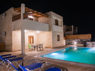Photo for Stone made villa with 3 bedrooms and a 48sqm private pool