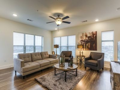 Photo for Luxurious East Dowtown Corner Unit Condo- #332