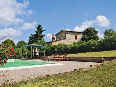 Photo for Pretty stone Villa  w/pool & stunning panoramic views, a short drive from amenities
