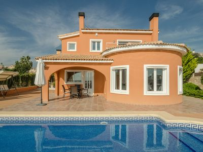 Photo for Ultra luxury, stylish villa with sunny terraces swimming pool and stunning views