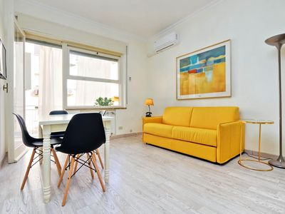 Photo for Spacious San Sebastianello C  apartment in Piazza di Spagna North with integrated air conditioning …