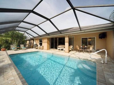 Photo for SWFL Rentals - Villa Lexi - Beautiful Heated Pool Home Sleeps 6