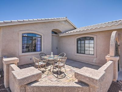 Photo for Spacious Home w/Patio - 10 Minutes to Lake Havasu!