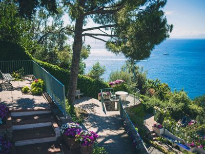 Photo for Villa sole di Amalfi is a wonderful property with private pool and jacuzzi, sea view, 6 bedrooms, 6