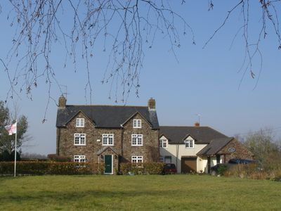 Swanley House with Little Swanley (triple-aspect private annexe) to the right