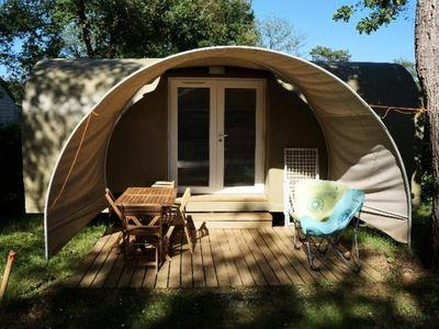 Photo for Campsite Domaine des Chênes Verts **** - Sweet Coco 3 Rooms 2/4 People Without Sanitary