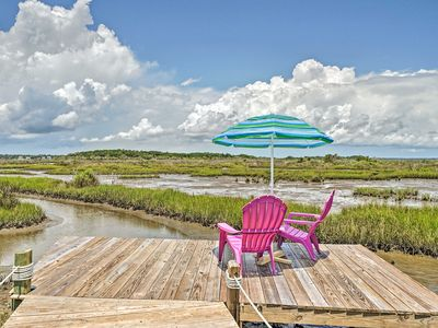Photo for NEW! Sunny Townhome w/ Marsh Views & Walk to Beach