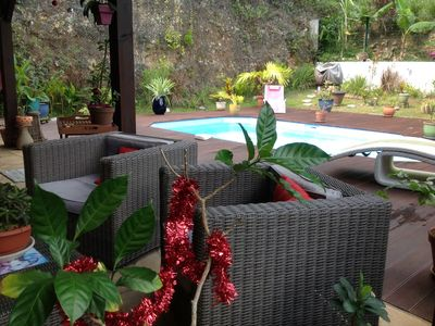 Photo for Your holiday in a beautiful area with pool and spa