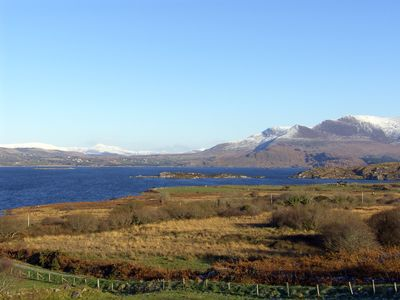 View across Lough Currane from the property