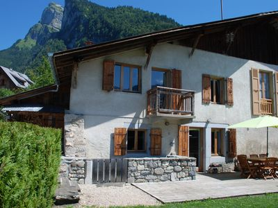 Photo for Charming renovated chalet, Samoëns village centre , sleeps up to 9 (GrandMassif)