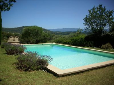 Photo for AUTHENTIC HOUSE OF CHARM IN THE HEART OF LUBERON WITH PRIVATE POOL