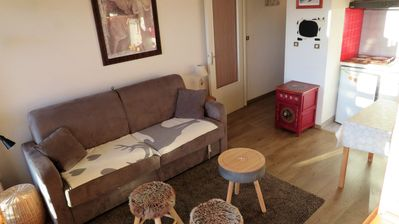 Photo for Beautiful 32m² studio for 4 people, WIFI, private garage on request