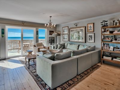 Photo for Newly Remodeled, Beachfront Views, Family Friendly - Seagrove Beach 30A!