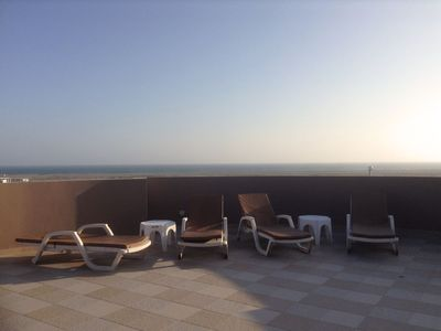 "Photo for All inclusive Luxury Penthouse in Salinas. Private two story beach ""super home"""
