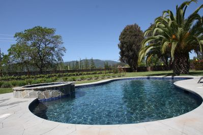 View if the Vines and Hills from the Pool
