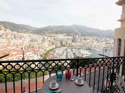 Photo for Monaco - Large sea view - Balcony - Air-conditioned