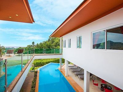 Photo for Luxury villa with seaview