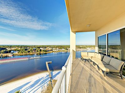 Balcony - Welcome to Perdido Key! Your rental is professionally managed by TurnKey Vacation Rentals.