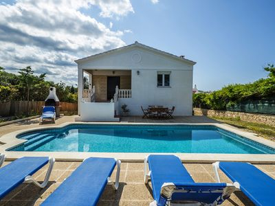 Photo for With private pool near nature park - Villa Áurea Addaia
