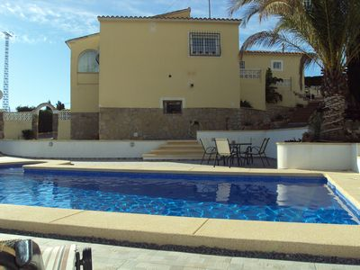 Photo for Air Conditioned Villa in Alfaz Del Pi, just 10 minutes from Benidorm