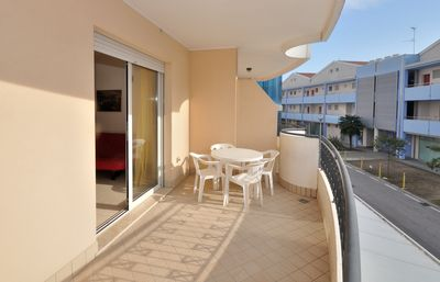 Photo for Residence Millennium, Bibione, 1 room, 5 beds, climate, washing machine