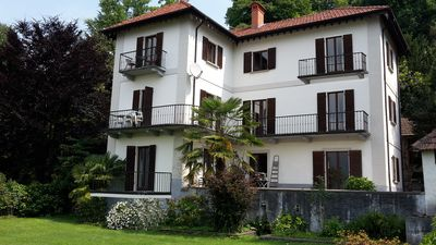 Photo for Villa Orta on Lake Orta, apartment 3B for 2 people