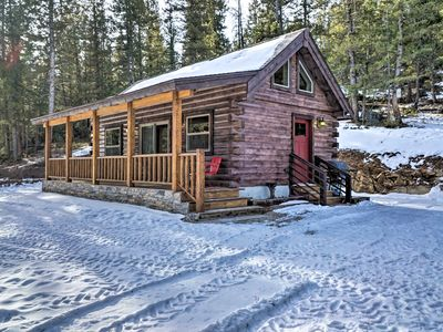 Photo for Private Red Feather Lakes Cabin on 2 Private Acres