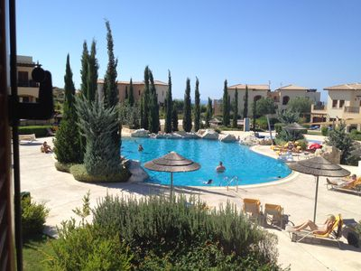Photo for Theseus Village 2 Bed Apartment With Enviable Position On Communal Pool